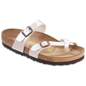 Mayari Birko-Flor Graceful Pearl White - Birkenstock Plus