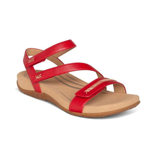 Gabby Adjustable Quarter Strap Sandal Coral - Birkenstock Plus