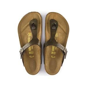 Gizeh Birko-Flor Golden Brown - Birkenstock Plus