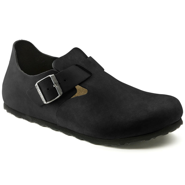 London Oiled Leather Black - Birkenstock Plus