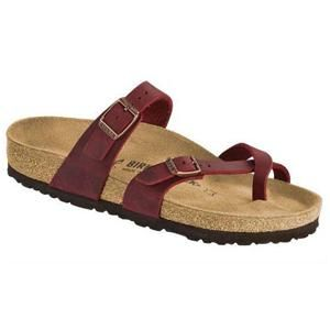 Mayari Oiled Leather Zinfandel - Birkenstock Plus