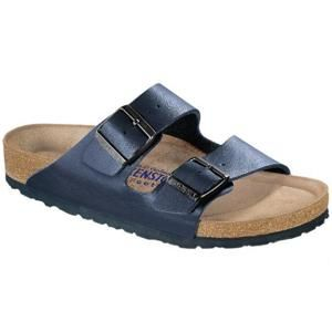 Arizona Soft Footbed Birko-Flor Blue - Birkenstock Plus