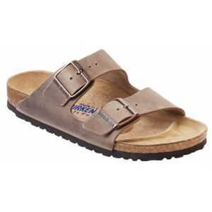 Arizona Soft Footbed Oiled Leather Tobacco Brown - Birkenstock Plus