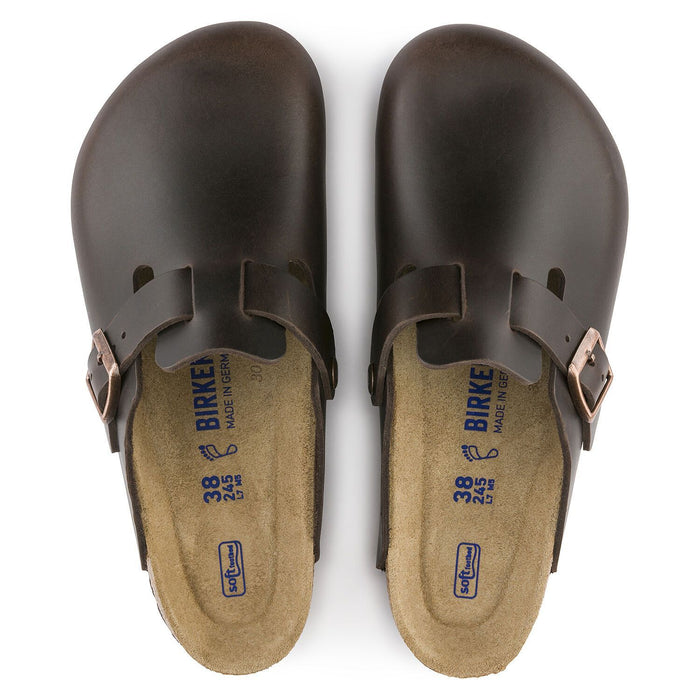 Boston Soft Footbed Amalfi Testa Di Moro - Birkenstock Plus