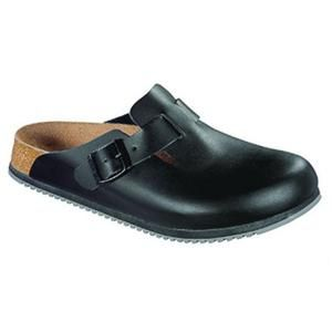 Boston Super Grip Leather Black - Birkenstock Plus