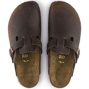 Boston Soft Footbed oiled Leather Habana - Birkenstock Plus