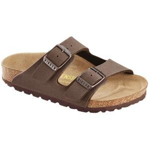 Arizona Kids Birkibuc Mocha - Birkenstock Plus