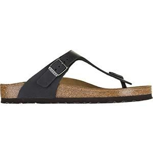 Gizeh Oiled leather Black - Birkenstock Plus