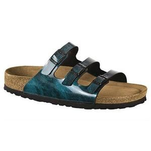 Florida Soft Footbed Birko-Flor Iride Strong Blue - Birkenstock Plus