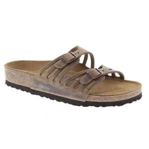 Granada Soft Footbed Oiled Leather Tabacco Brown - Birkenstock Plus