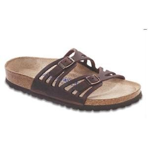 Granada Soft Footbed Oiled Leather Habana - Birkenstock Plus