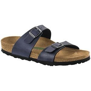 Sydney Vegan Birko-Flor Pull Up Navy - Birkenstock Plus