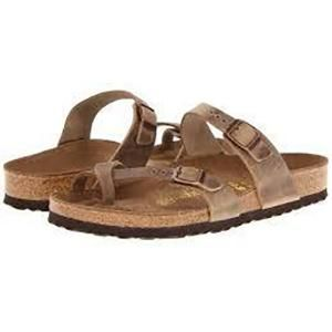 Mayari Oiled Leather Tobacco Brown - Birkenstock Plus