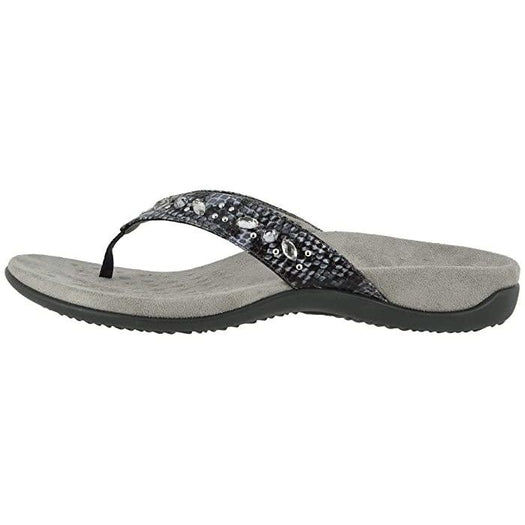 Lucia Toe Post Sandal Slate Grey - Birkenstock Plus