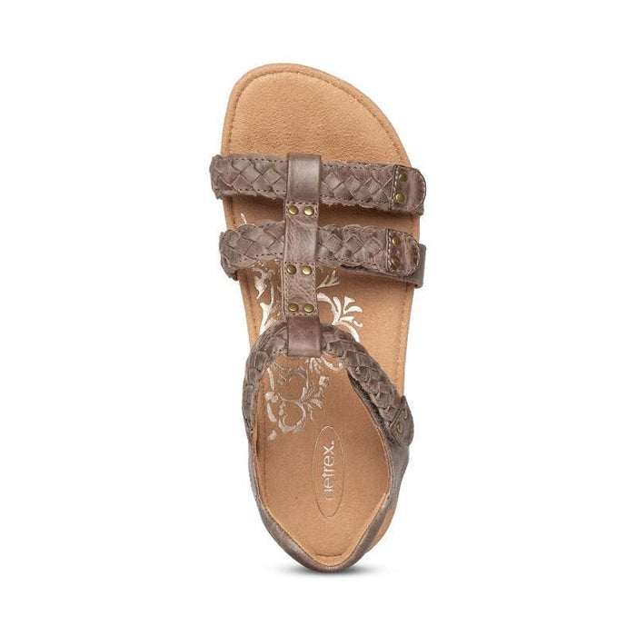 Reese Adjustable Gladiator Sandal Taupe - Birkenstock Plus