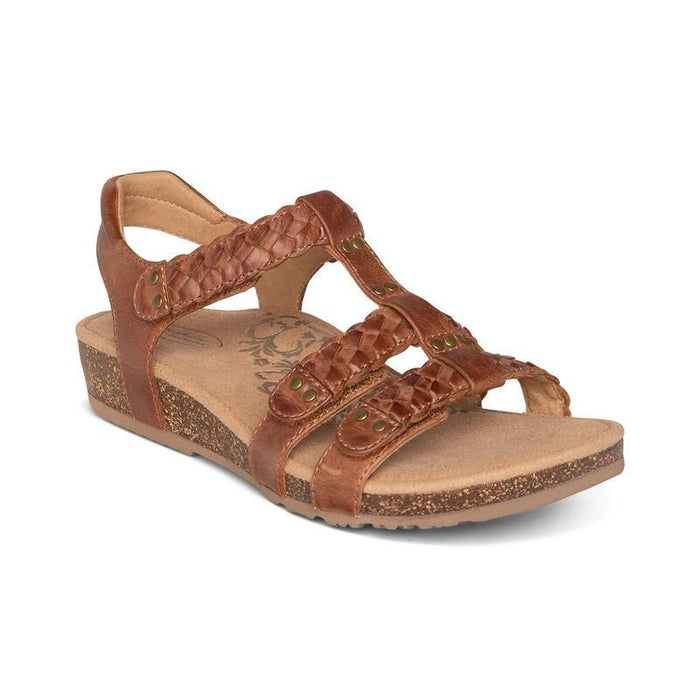 Reese Adjustable Gladiator Sandal Brown - Birkenstock Plus