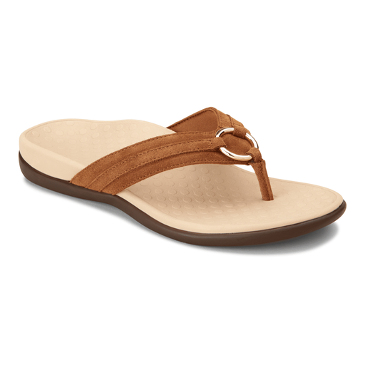 Tide Aloe Toe Post Sandal Toffee - Birkenstock Plus