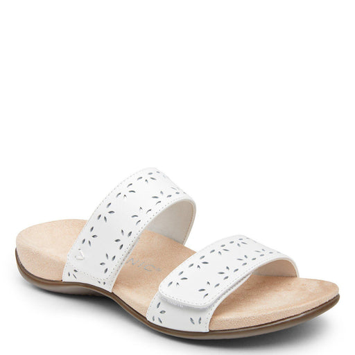 Randi Slide Sandal Leather White - Birkenstock Plus