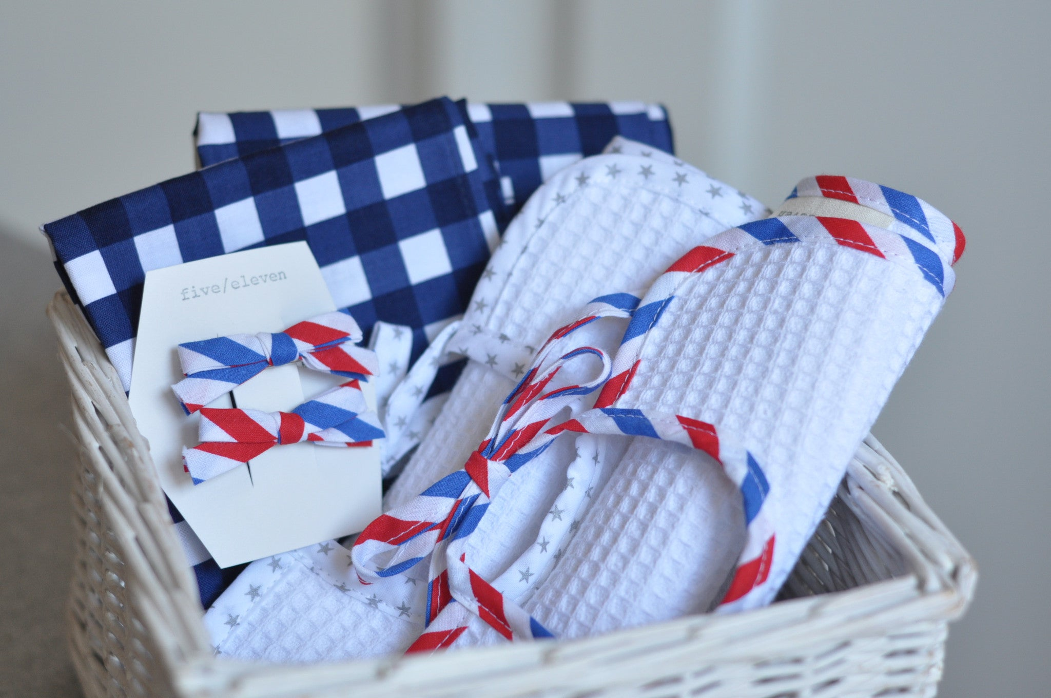 Stars and stripes : July 4th essentials
