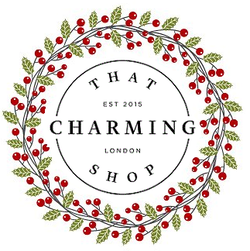 That Charming Shop Christmas Logo