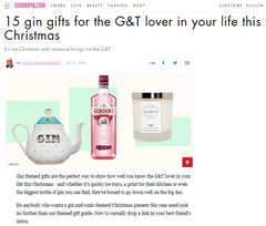 That Charming Shop | Cosmopolitan UK | Gin Candle | Gin Gift Guide | Christmas Gin Gift Guide