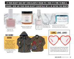 That Charming Shop - Voice Magazine - The Vegan Look - Rosemary Mint Body Scrub
