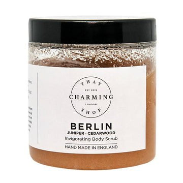 City Lights Body Scrub - City Body Scrub - Berlin Body Scrub - Juniper Cedarwood Body Scrub - That Charming Shop