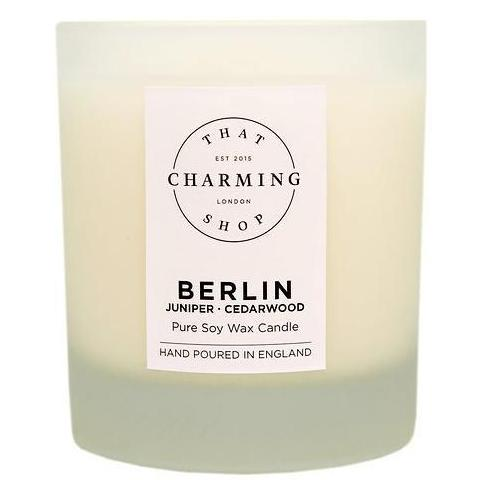 City Lights - City Candle - Berlin Deluxe Candle - Juniper Cedarwood Candle - That Charming Shop