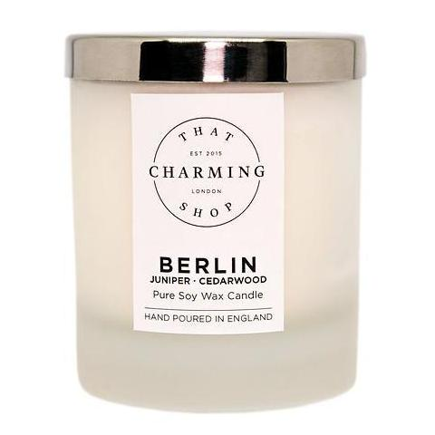 City Lights - City Candle - Berlin Home Candle - Juniper Cedarwood Candle - That Charming Shop