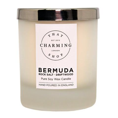 City Lights Candle - City Candle - Bermuda Home Candle - Rock Salt Driftwood Candle - That Charming Shop