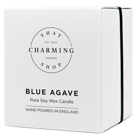 Blue Agave Deluxe Candle - Blue Agave Cocoa Lime Candle - That Charming Shop