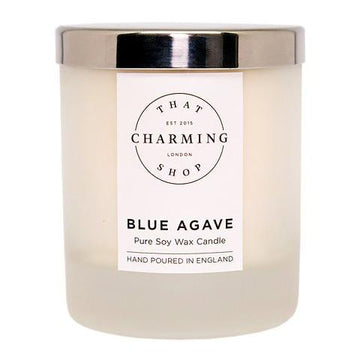 Blue Agave Home Candle - Blue Agave Cocoa Lime Candle - That Charming Shop