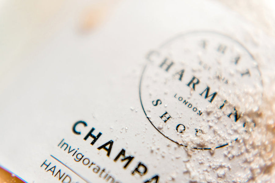 Champagne Body Scrub - That Charming Shop - Best Body Scrub