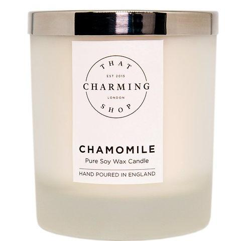 Chamomile Candle - Chamomile Deluxe Candle - That Charming Shop