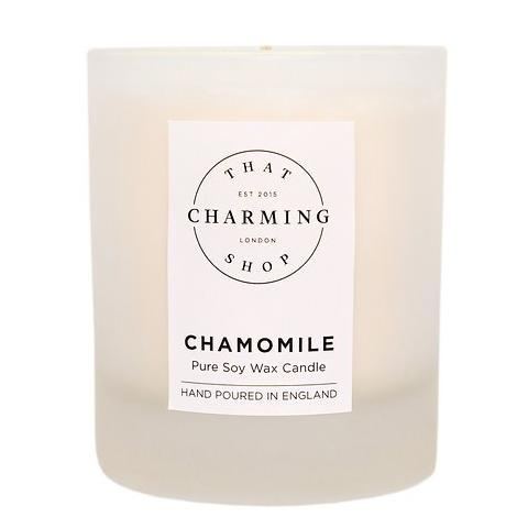 Chamomile Home Candle - That Charming Shop - Chamomile Candle - Chamomile Gift - Essential Oil - Soy Candle - Gift Wrapped Candle - Tea Lover - Tea Gift - Home Decor - Wedding Gift