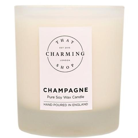 Champagne Candle - That Charming Shop - Champagne Deluxe Candle - Wedding Candle