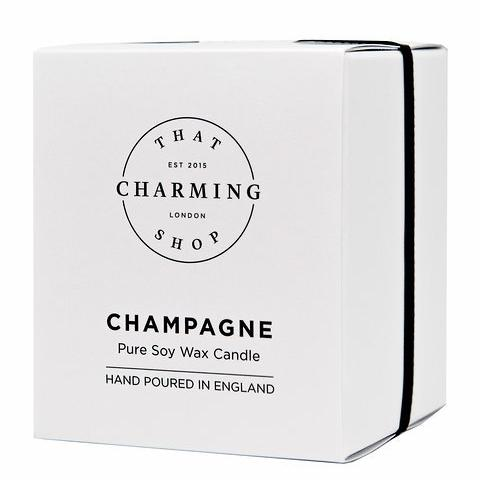 Champagne Candle - That Charming Shop - Champagne Home Candle - Wedding Candle