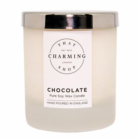 Chocolate Candle - Chocolate Home Candle - That Charming Shop