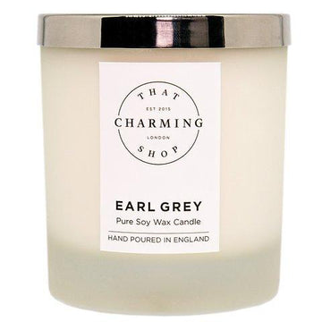 Earl Grey Candle - Earl Grey Deluxe Candle - That Charming Shop