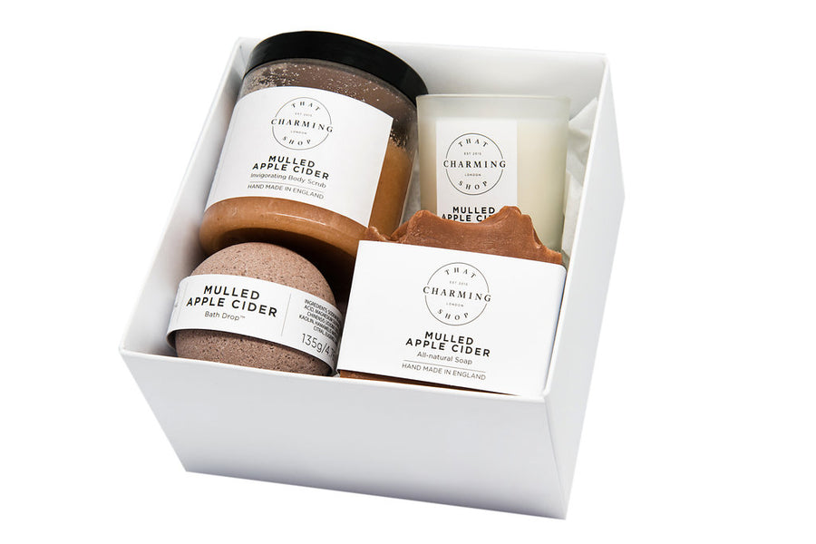Mulled Apple Cider Beauty Box | Beauty Gift Box | Christmas Beauty Gift Box | That Charming Shop