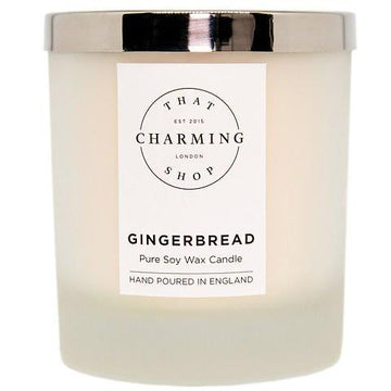 Gingerbread Candle - Gingerbread Deluxe Candle - That Charming Shop - Chritsmas Candle