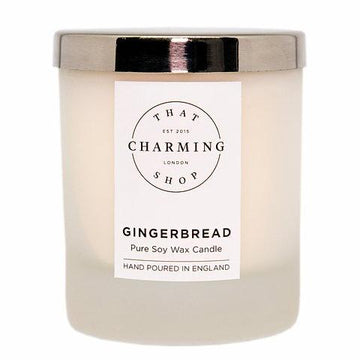 Gingerbread Candle - Gingerbread Home Candle - That Charming Shop - Chritsmas Candle
