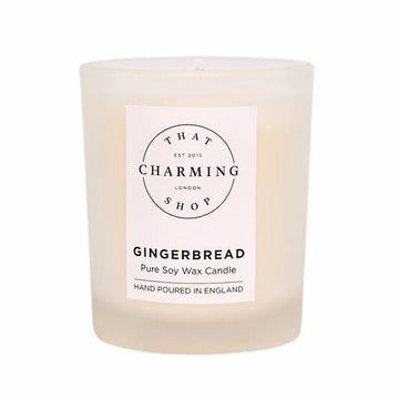 Gingerbread Candle - Gingerbread Travel Candle - That Charming Shop - Chritsmas Candle