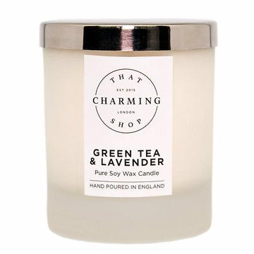Green Tea And Lavender Home Candle - Green Tea And Lavender - That Charming Shop