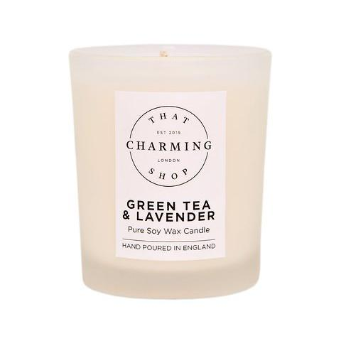 Green Tea And Lavender Travel Candle - Green Tea And Lavender - That Charming Shop