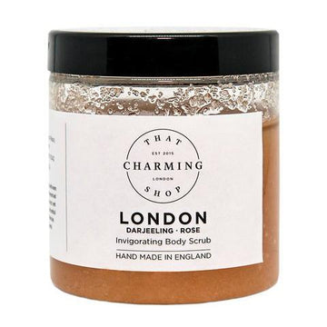 City Lights Body Scrub - City Body Scrub - London Body Scrub - Darjeeling Rose Body Scrub - That Charming Shop