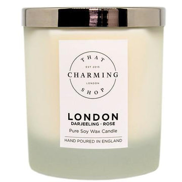 City Lights Candle - City Candle - London Deluxe Candle - Darjeeling Rose Candle - That Charming Shop
