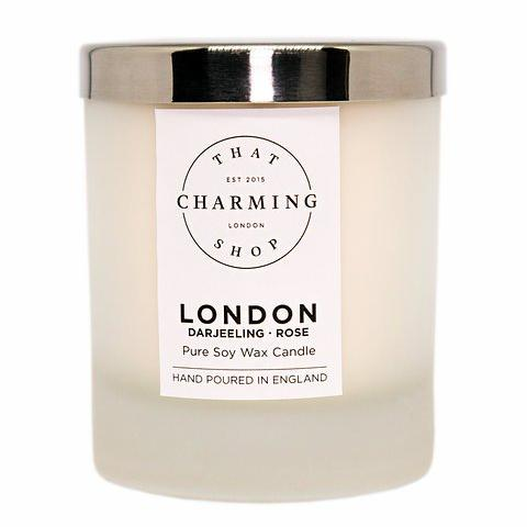 City Lights Candle - City Candle - London Home Candle - Darjeeling Rose Candle - That Charming Shop