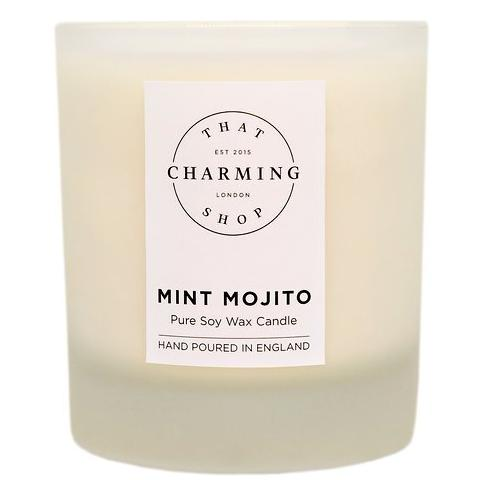 Mojito Candle - Mint Mojito Deluxe Candle - That Charming Shop - Cocktail Candle
