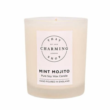 Mint Mojito Travel Candle - That Charming Shop - Mojito Candle - Mint Mojito Candle - Mojito Gift - Soy Candle - That Charming Shop - Home Decor - Gifts For Wife - Gifts For Girlfriend